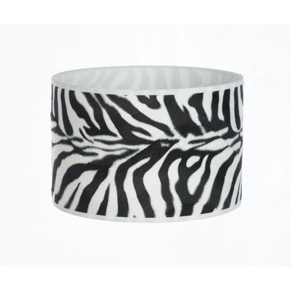 Hand Made Zebra Print Lampshade