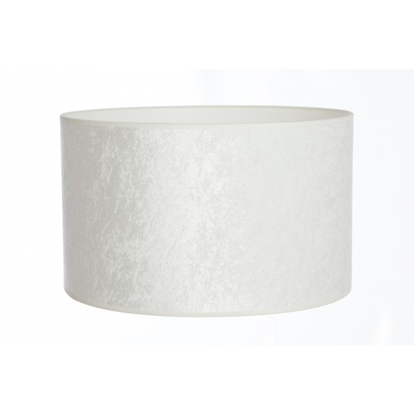 Hand made white velvet lampshade shade studios hand made crushed white velvet lampshade aloadofball Images