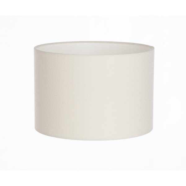 Hand Made Ivory Linen Lampshade
