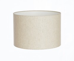 Hand Made Ambassador Natural Linen Lampshade