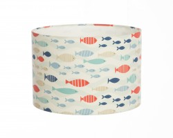 Hand Made Children's Cartoon Fish Design Lampshade