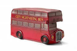 Red London Bus Retro Light