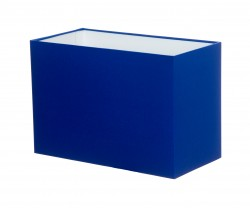 Hand Made Royal Blue Rectangle Lampshade