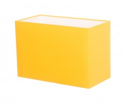 Hand Made Sunshine Yellow Rectangle Lampshade