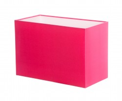 Hand Made Neon Hot Pink Rectangle Lampshade
