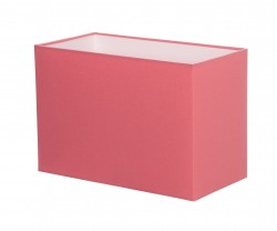 Hand Made Blush Pink Rectangle Lampshade