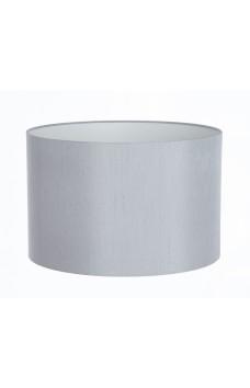 Hand Made Silver-Grey Satin Backed Duppion Lampshade