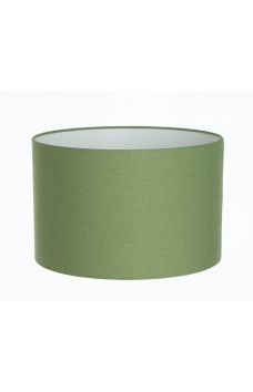 Hand Made Green Linen Lampshade