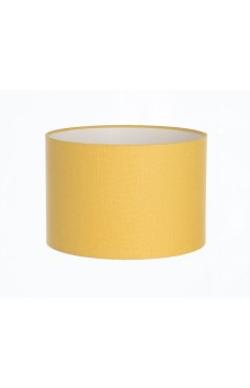 Hand Made Yellow Linen Lampshade