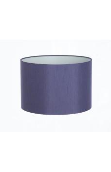 Hand Made Grape Purple Satin Backed Duppion Lampshade