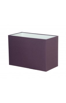 Hand Made Mauve Purple Rectangle Lampshade