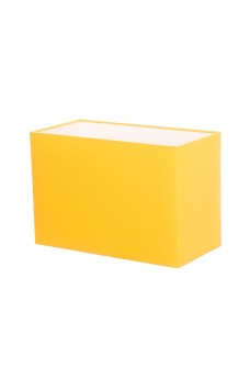 Hand Made Sunshine Yellow Rectangle Lampshade