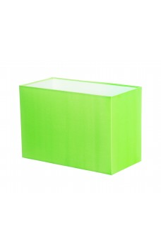 Hand Made Neon Lime Green Rectangle Lampshade